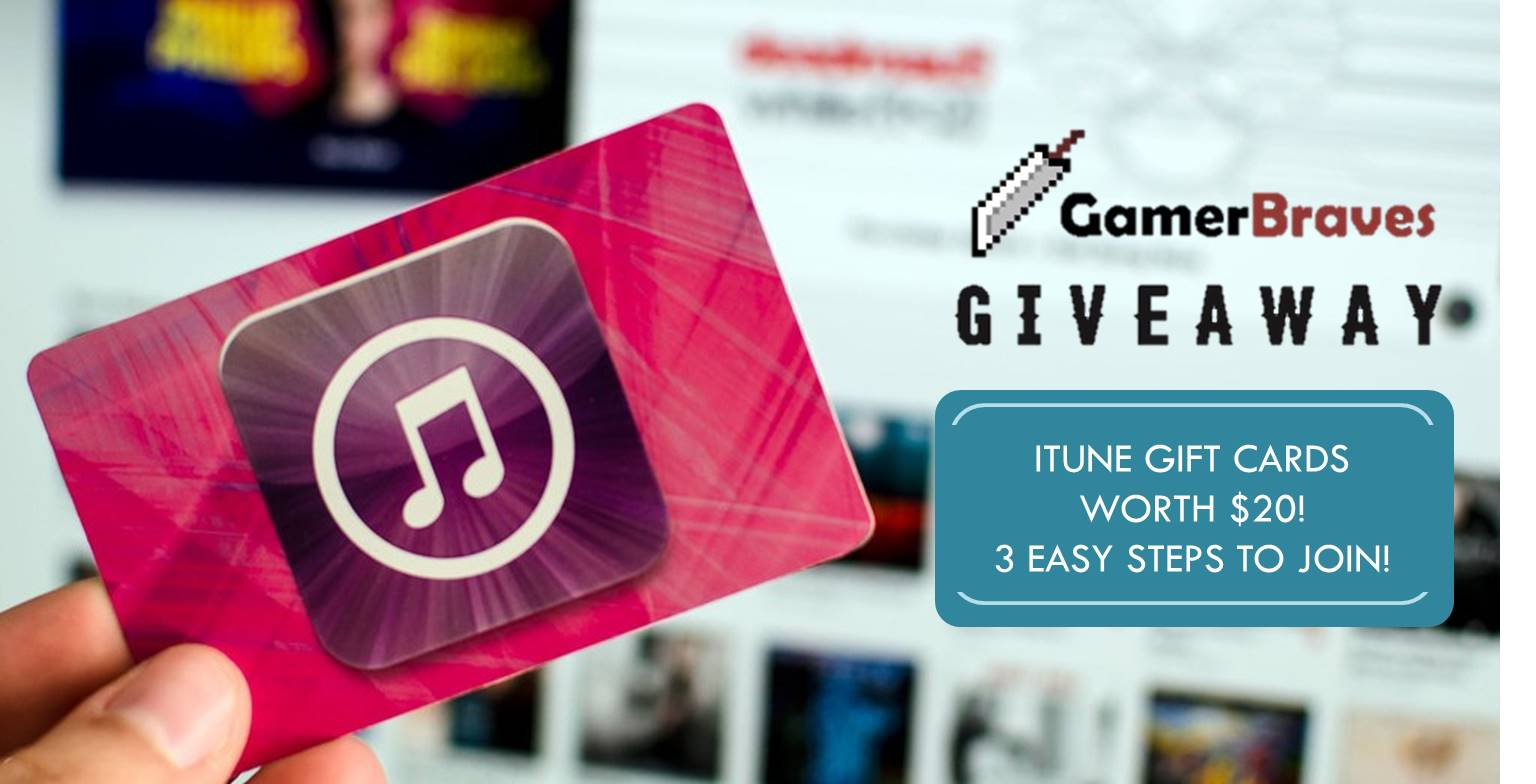 $10 iTunes Gift Card Giveaway - brought to you by