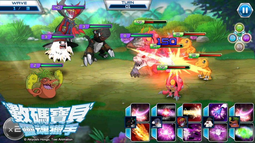 digimon soul chaser battle feature