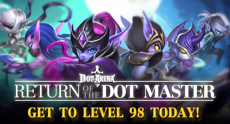 Dot Arena updated with event, instant level 98 boost and new