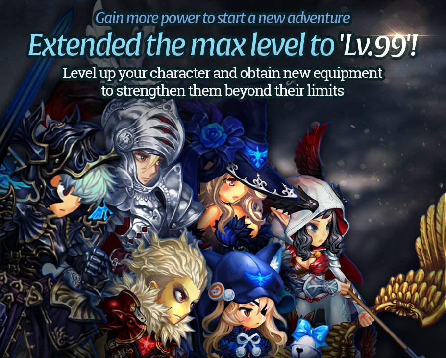 dragon blaze releases 3 new awakened heroes myth mode and increased level cap gamerbraves. Black Bedroom Furniture Sets. Home Design Ideas